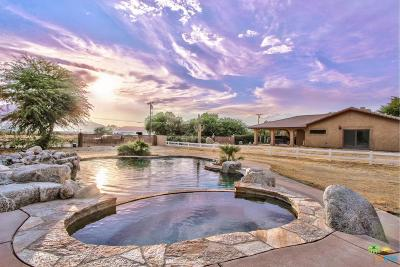 Riverside County Single Family Home Active Under Contract: 31800 Chimayo Road