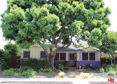 Los Angeles County Single Family Home Active Under Contract: 1120 Rose Avenue