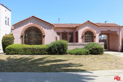Los Angeles Single Family Home For Sale: 2126 South Orange Drive