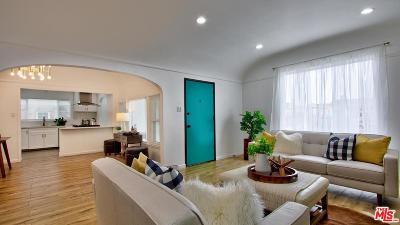 Los Angeles Single Family Home Active Under Contract: 1851 West 81st Street