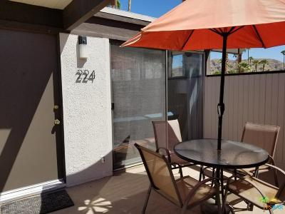 Palm Springs Condo/Townhouse For Sale: 1111 East Palm Canyon Drive #224