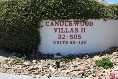 Cathedral City Condo/Townhouse For Sale: 32505 Candlewood Drive #99