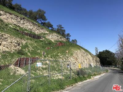 Studio City Residential Lots & Land For Sale: 3769 Avenida Del Sol