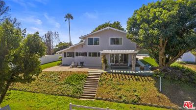Malibu CA Single Family Home For Sale: $2,300,000
