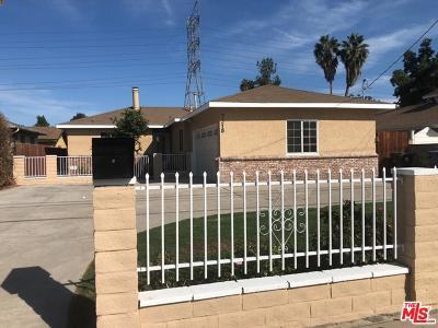 Reseda Single Family Home For Sale: 7318 Wilbur Avenue