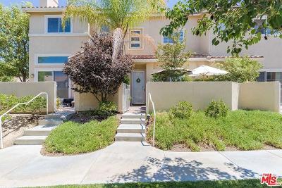Stevenson Ranch Condo/Townhouse For Sale: 25748 Perlman Place #B