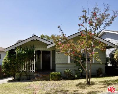 Los Angeles Single Family Home For Sale: 5038 Coringa Drive