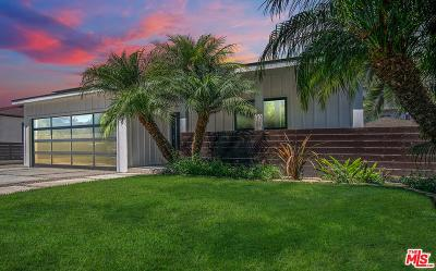 Los Angeles Single Family Home Active Under Contract: 3339 South Beverly Drive