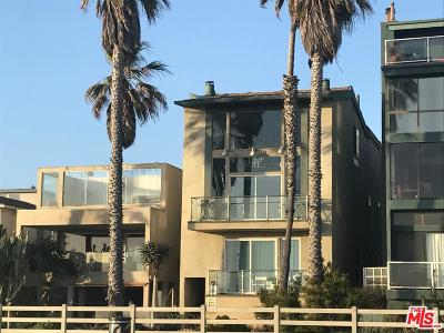 Venice Condo/Townhouse For Sale: 3215 Ocean Front Walk Walk #101