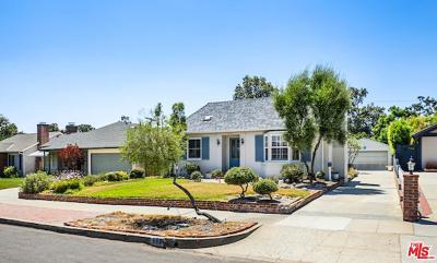 Pasadena Single Family Home For Sale: 605 North Sunnyslope Avenue