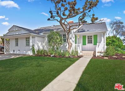 Los Angeles Single Family Home Active Under Contract: 2828 Castle Heights Avenue