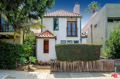 Santa Monica Single Family Home For Sale: 714 Navy Street