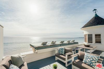 Malibu CA Single Family Home For Sale: $6,350,000
