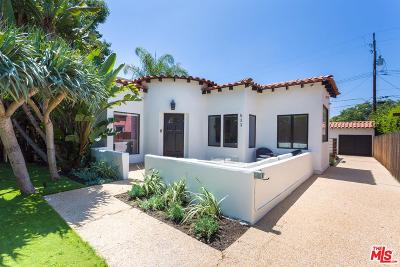 West Hollywood CA Single Family Home For Sale: $2,200,000
