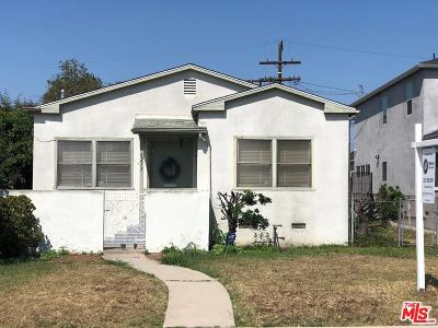 Los Angeles Single Family Home For Sale: 6215 Alviso Avenue
