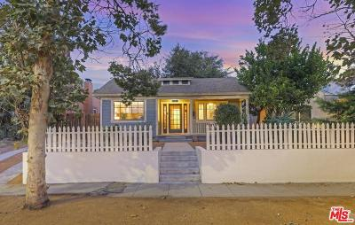 Los Angeles Single Family Home For Sale: 3730 Dover Place