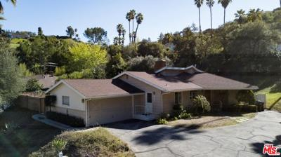 Encino Single Family Home For Sale: 16962 Cotter Place