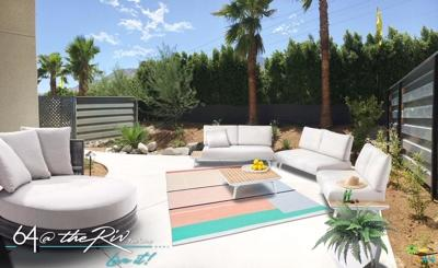 Palm Springs CA Condo/Townhouse For Sale: $449,900