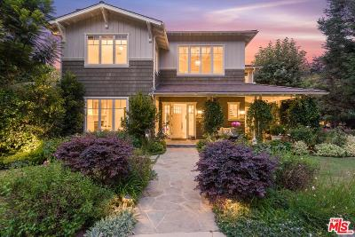 Pacific Palisades Single Family Home For Sale: 800 Greentree Road