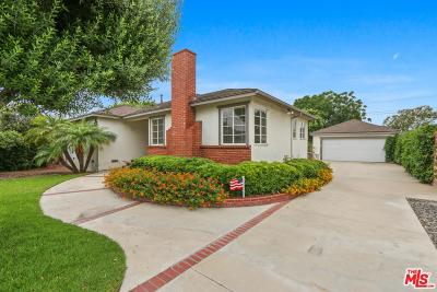 Anaheim Single Family Home Active Under Contract: 1109 North Boden Drive