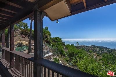 Malibu CA Single Family Home For Sale: $7,000,000