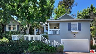 Sherman Oaks Single Family Home For Sale: 4017 Woodman Canyon