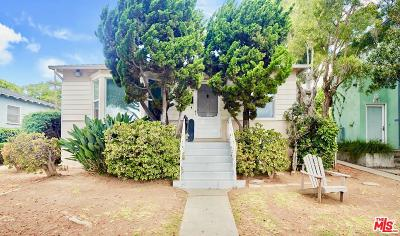 Santa Monica Single Family Home For Sale: 2443 California Avenue