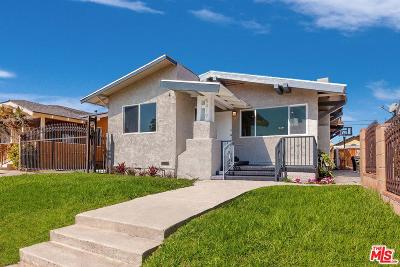 Los Angeles Single Family Home For Sale: 5419 6th Avenue