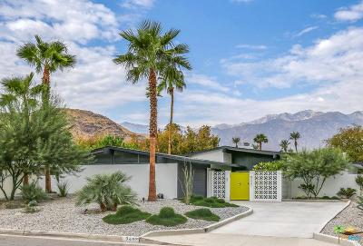 Palm Springs Single Family Home Active Under Contract: 2407 South Broadmoor Drive