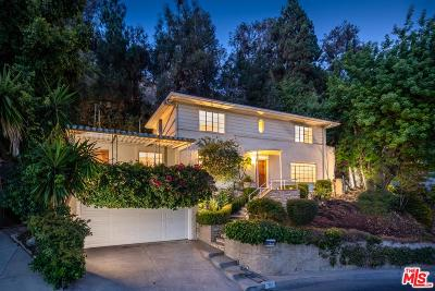 Hollywood Single Family Home For Sale: 7053 Senalda Road
