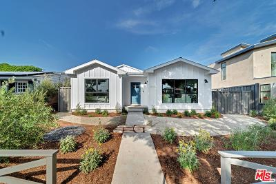 Santa Monica Single Family Home For Sale: 2415 Cloverfield