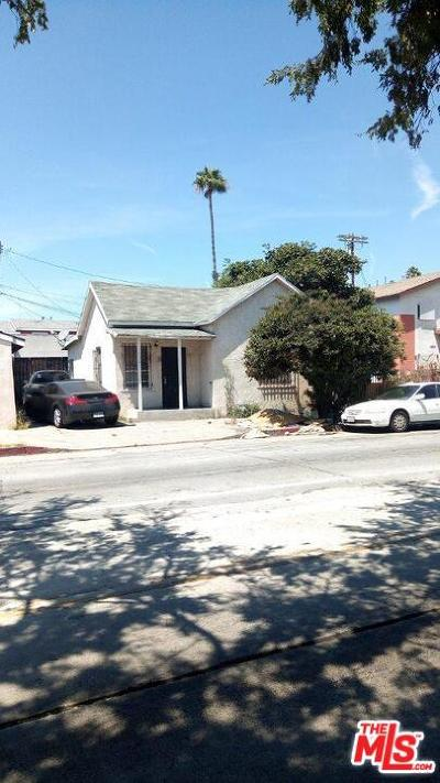 Los Angeles Single Family Home For Sale: 10321 South San Pedro Street