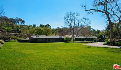 Malibu Single Family Home For Sale: 6172 Bonsall Drive