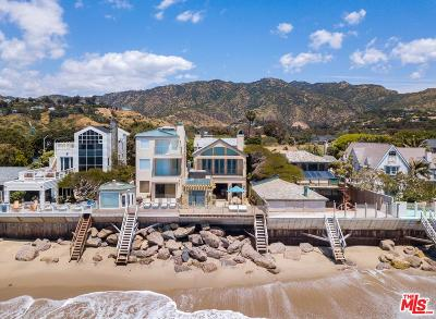 Malibu Single Family Home For Sale: 23556 Malibu Colony Road