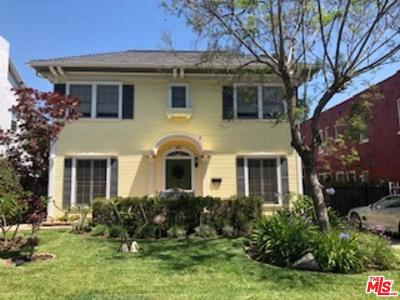 Single Family Home For Sale: 860 South Bronson Avenue