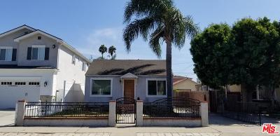 Culver City Single Family Home For Sale: Allin Street