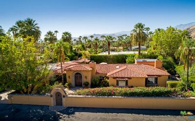 Palm Springs Single Family Home For Sale: 425 Vereda Norte