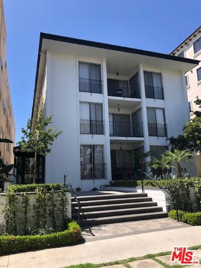 Beverly Hills Condo/Townhouse Active Under Contract: 435 North Palm Drive #101