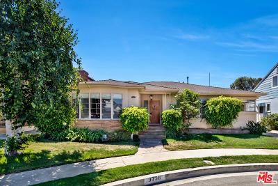 Los Angeles Single Family Home Active Under Contract: 9736 Kirkside Road