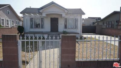 Los Angeles Single Family Home For Sale: 4182 Denker Avenue