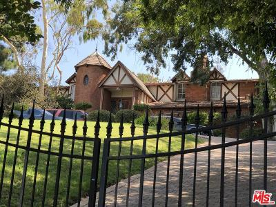 Los Angeles CA Single Family Home For Sale: $6,550,000
