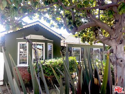 Culver City Single Family Home For Sale: 10768 Braddock Drive