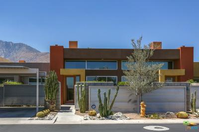 Palm Springs Condo/Townhouse Active Under Contract: 3637 Quiet Side Street