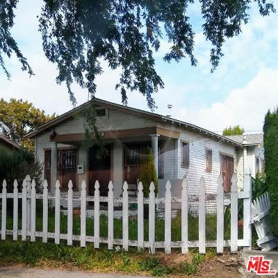Inglewood Single Family Home Active Under Contract: 928 South Oak Street