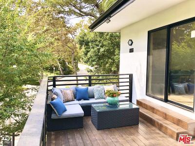 Pasadena Single Family Home For Sale: 1587 La Loma Road