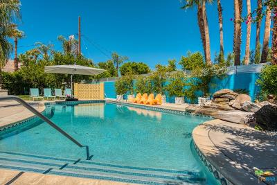 Palm Springs Single Family Home For Sale: 1660 East El Alameda