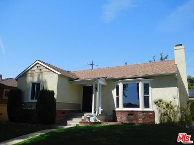 Inglewood Single Family Home Active Under Contract: 449 West 64th Street