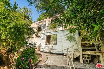 Single Family Home For Sale: 1720 Griffith Park