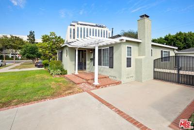 Culver City Single Family Home For Sale: 10720 Oregon Avenue