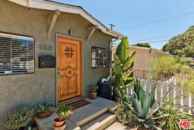 Culver City Single Family Home Active Under Contract: 11108 Matteson Avenue